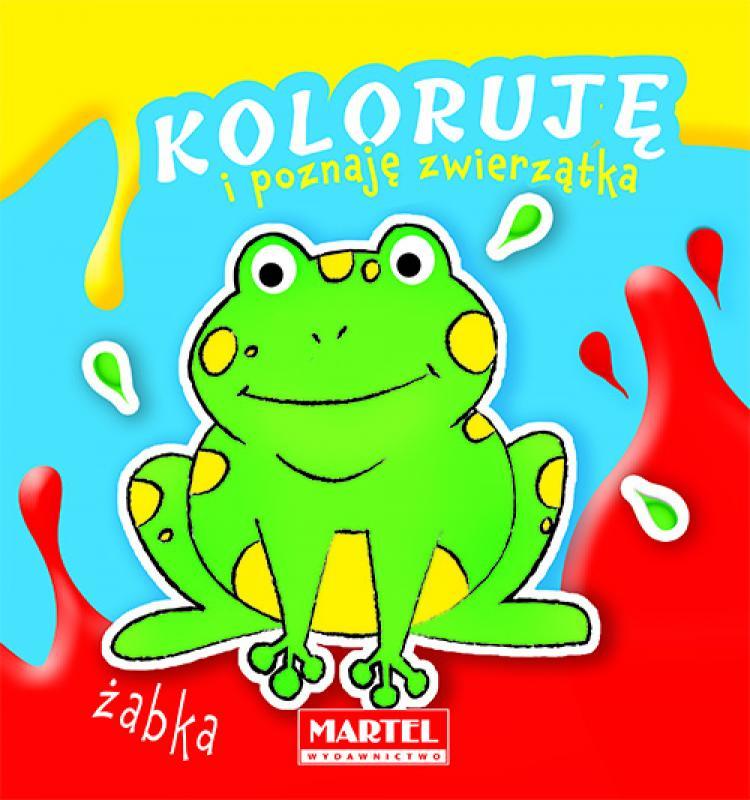 Koloruję I Poznaję Zwierzątka żabka